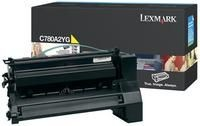 Lexmark toner yellow (6000str, C780/C782)