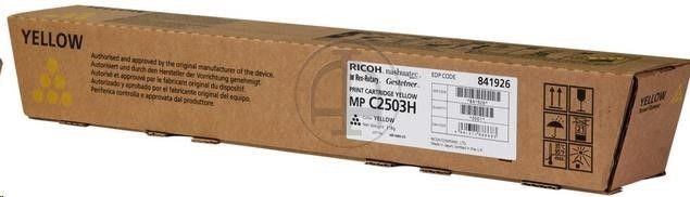 Ricoh Print Cartridge Yellow MP C2503H