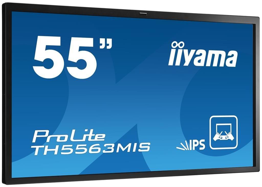 iiyama Monitor IIyama TH5563MIS-B1AG 55inch, IPS multitouch, Full HD, DVI, HDMI