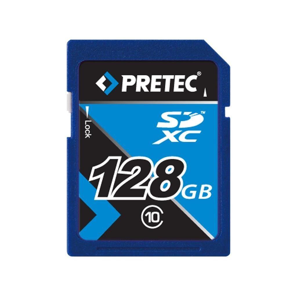 Pretec 128 GB SDXC class 10 Secure Digital eXtended Capacity
