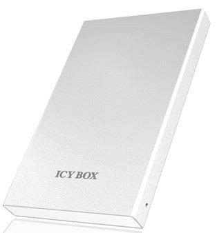 RaidSonic Technology IcyBox Obudowa na Dysk 2,5'' HDD z SATA I/II/III, USB 3.0, Biała
