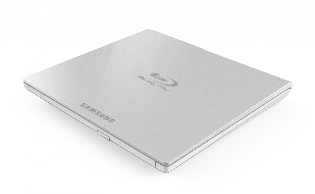 Samsung Nagrywarka Blu-ray SLIM SE-506CB ZEWNĘTRZNA, Biała / SAMSUNG