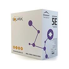 Solarix kabel instalacyjny CAT5e UTP LSOH drut 305m/box