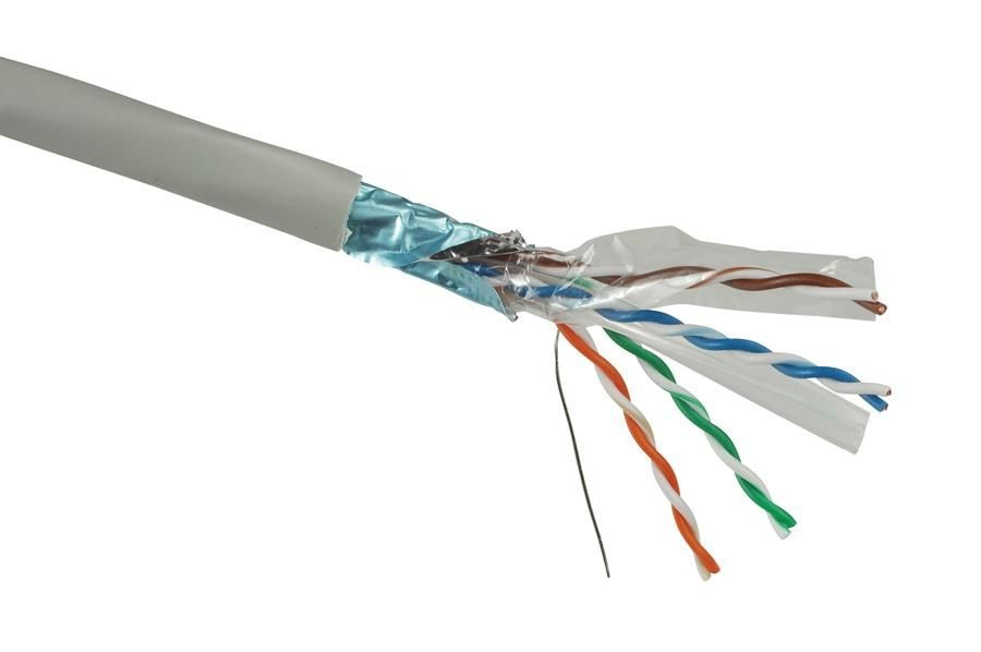 Solarix kabel instalacyjny CAT6 FTP PVC drut 500m/box