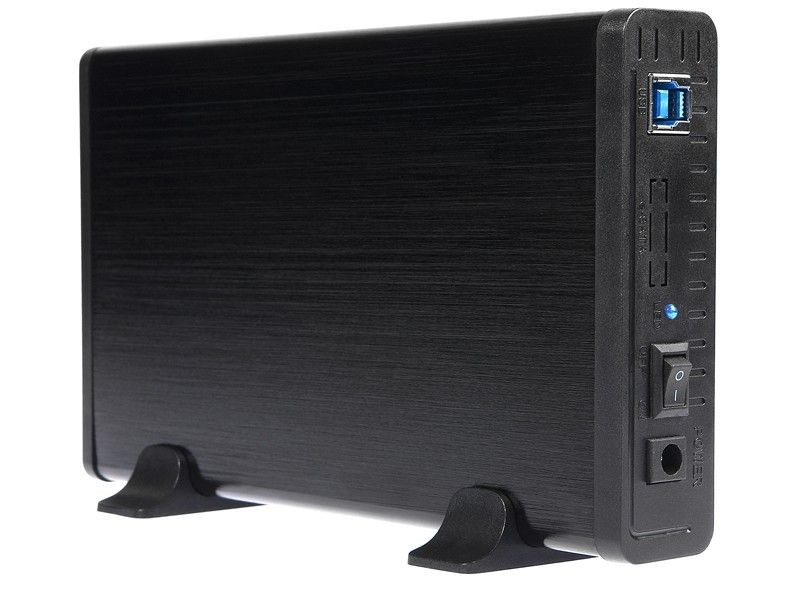 Tracer Obudowa 731 AL do HDD 3.5'' ATA / SATA USB 2.0. Aluminiowa