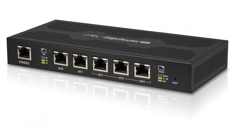 Ubiquiti Networks Ubiquiti EdgeRouter ERPoe-5 - 5x10/100/1000Mbps, 24V/48V PoE Support