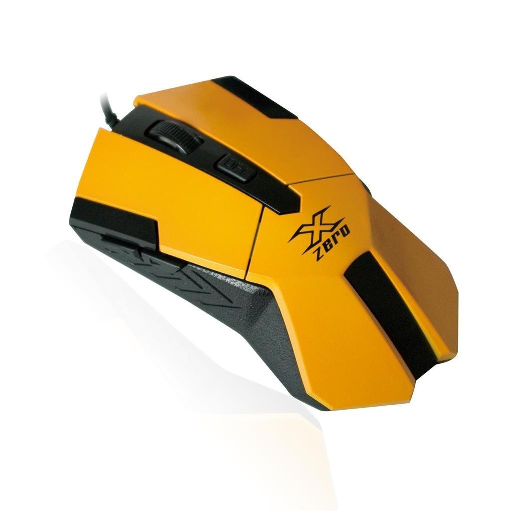Vakoss X-ZERO Mysz Optyczna Gamingowa 2400dpi, wielofunkcyjne klawisze