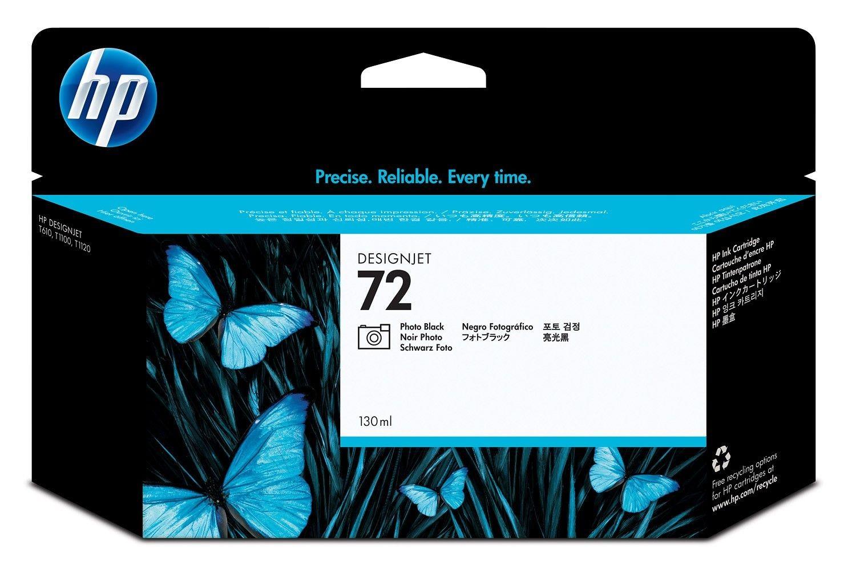HP wkład atramentowy No. 72 czarny foto (130ml, T1100, T610)