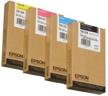 Epson Tusz T612 220ml Cyan | Stylus Pro 7450/9450/7400/9400/9880/7800/9800