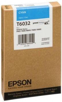 Epson wkład atramentowy do Stylus 7800/7880/9800/9880 (cyan, 220ml)