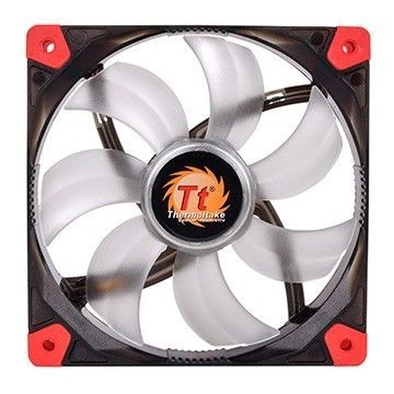 Thermaltake Wentylator - Luna 12 LED Red (120mm, 1200 RPM) BOX