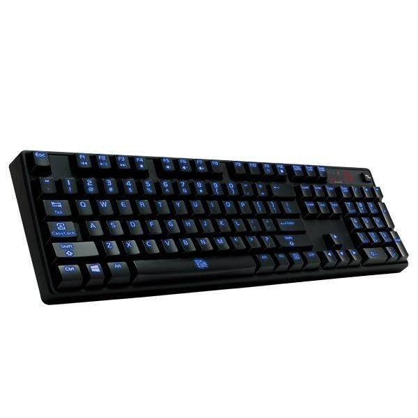 Thermaltake Tt eSPORTS Mechaniczna klawiatura dla graczy - Poseidon Z illuminated Blue Switch 1000Hz