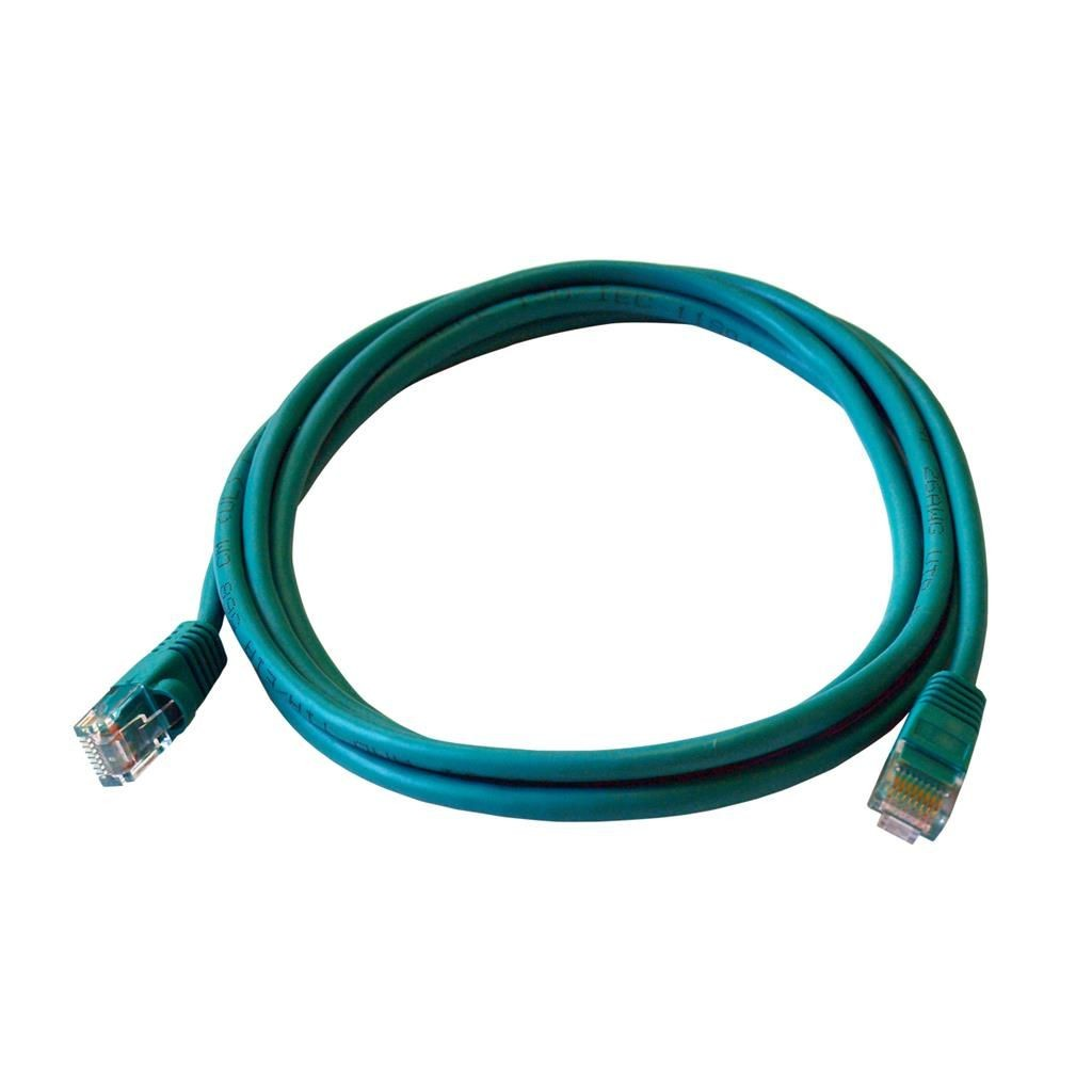 ART PATCHCORD UTP 5e 5m zielony oem