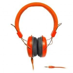 ART SŁUCHAWKI STEREO z mikrofonem AP-60A pomarańczowe