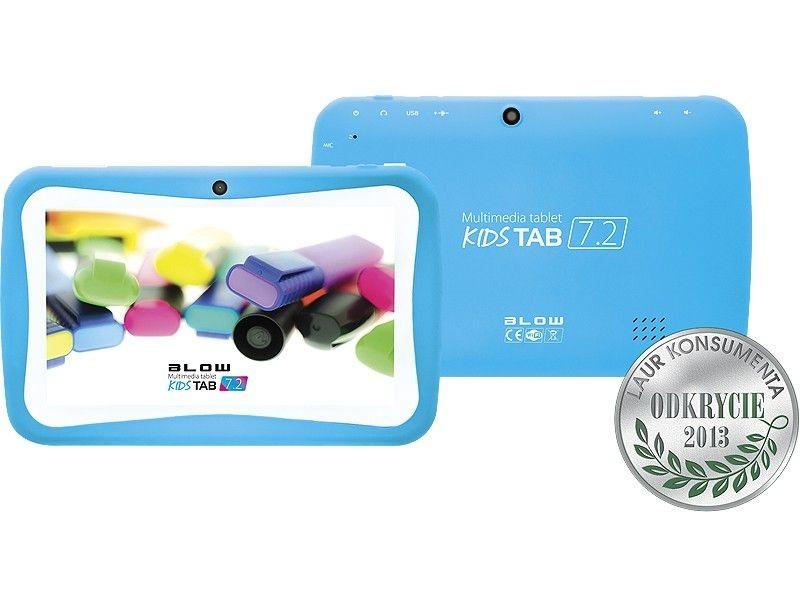 BLOW Tablet KidsTAB 7.4 niebieski + etui