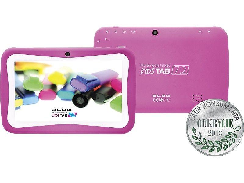 BLOW Tablet KidsTAB 7.4 różowy + etui