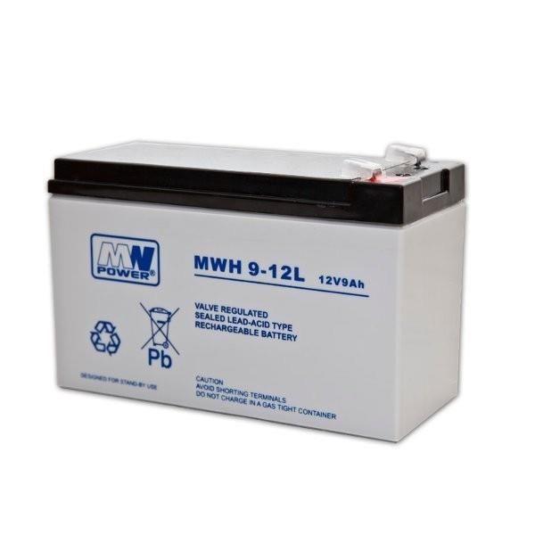 Eaton MW Power battery 12V/9Ah 6-9 years Faston 250