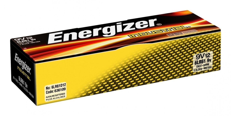 Energizer Bateria Alkaliczna Industrial 9V /12szt.