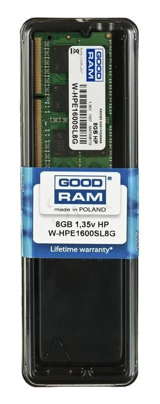 GoodRam W-HPE1600SL8G 8/1600 Notebook HP Low Voltage