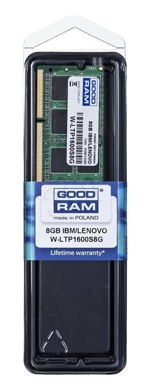 GoodRam DED.NB W-LTP1600S8G 8GB 1600MHz DDR3