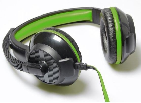 Media-Tech PURUS MT3564- Słuchawki stereofoniczne z mikrofonem i regulacja głośności