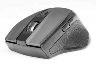 Media-Tech OFFICE ERGO - Bezprzewodowa mysz optyczna, rozdz 800/1200/1600 cpi, 5 przycisków