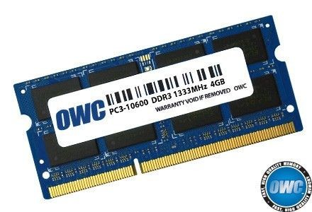 OWC SO-DIMM DDR3 4GB 1333MHz CL9 Apple Qualified