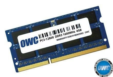 OWC SO-DIMM DDR3 4GB 1600MHz CL11 Apple Qualified