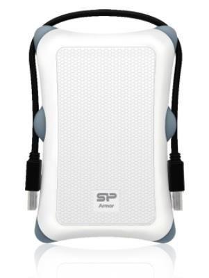 Silicon-Power Dysk zewnętrzny Armor A30 2.5'' 2TB USB 3.0, Anti-shock, Biały