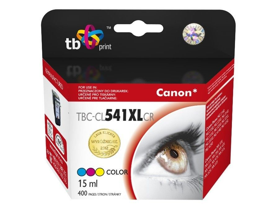 TB Print Tusz do Canon CL-541XL Kolor ref. TBC-CL541XLCR
