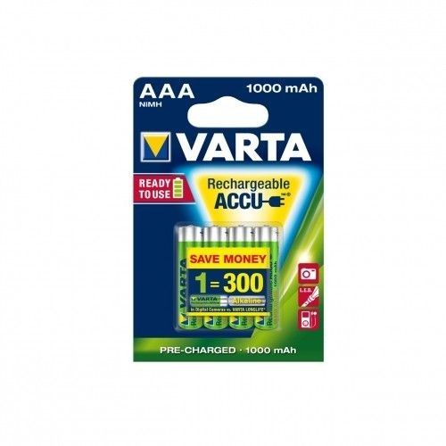 VARTA AKUMULATORY R3 1000 mAh 4szt ready 2 use