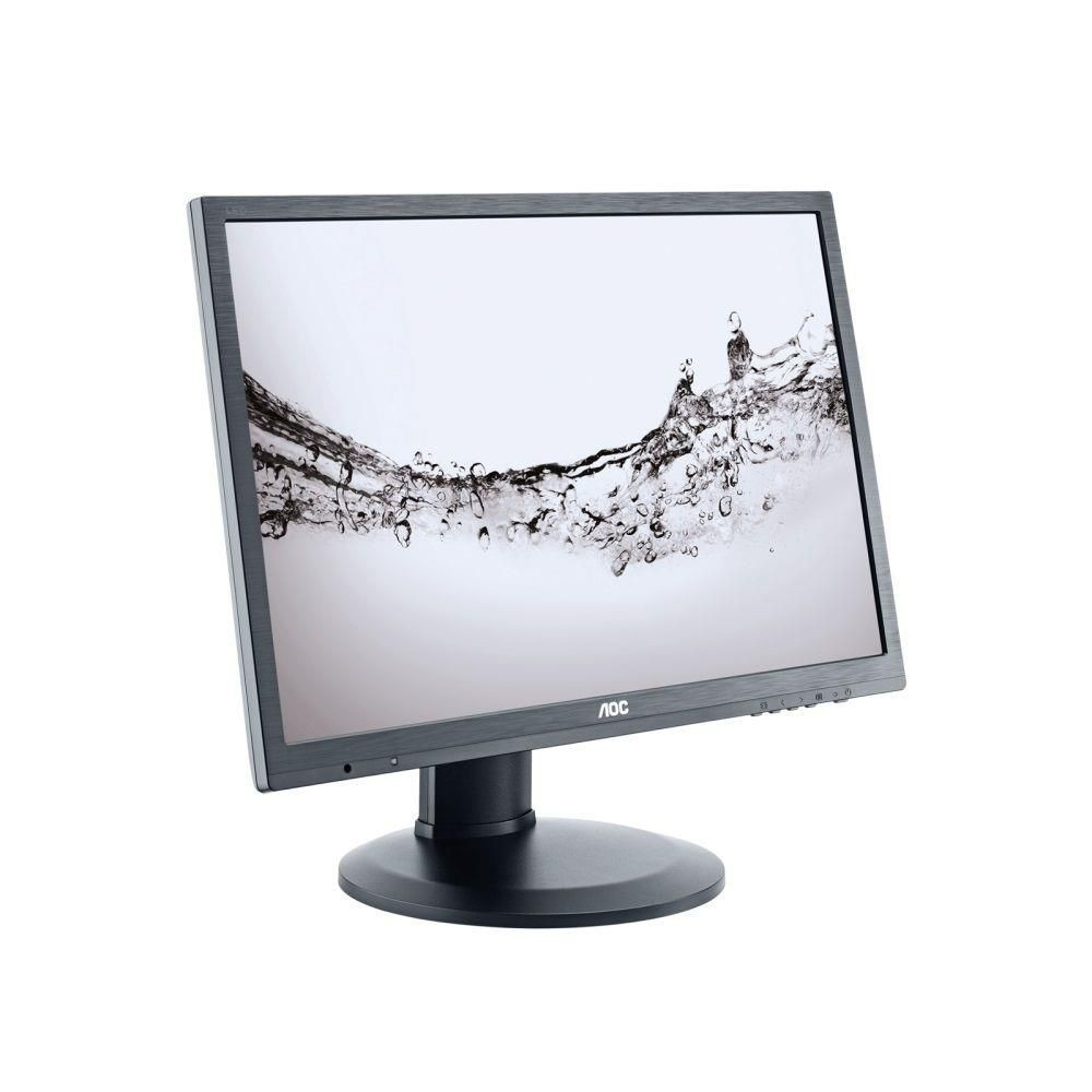 AOC Monitor AOC E2460PQ/BK 24inch, D-Sub/DVI/DP, reg. Wysokości, głośniki