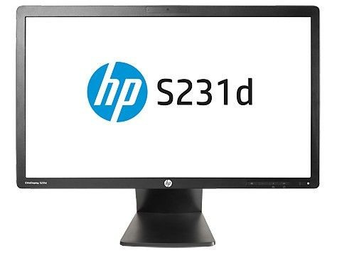 HP 23'' S231d LED IPS Docking Monitor F3J72AA