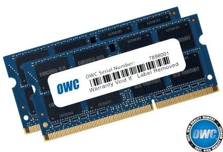 OWC SO-DIMM DDR3 2x8GB 1600MHz CL11 Apple Qualified