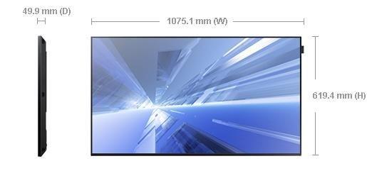 Samsung Monitor 48 LH48DBDPLGC/EN