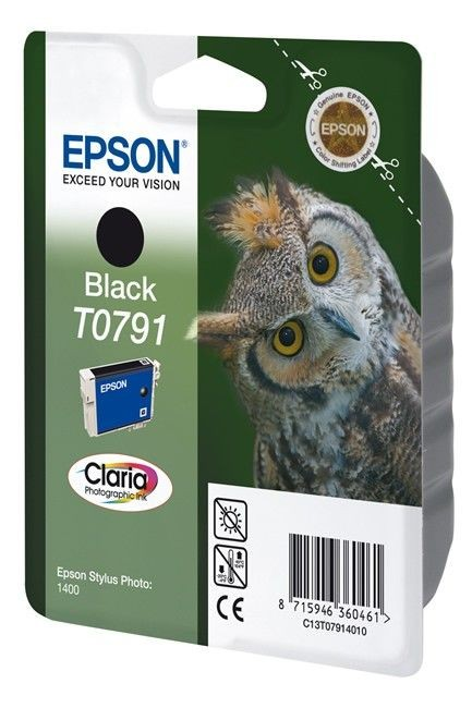 Epson Tusz T0791 black | Stylus Photo 1400