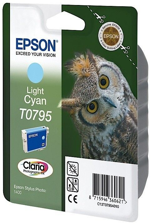 Epson Tusz T0795 light cyan | Stylus Photo 1400