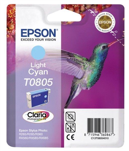 Epson wkład light cyan do Stylus Photo R265/360, RX560 (8ml)