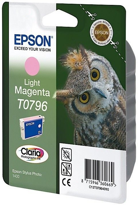 Epson Tusz T0796 light magenta | Stylus Photo 1400