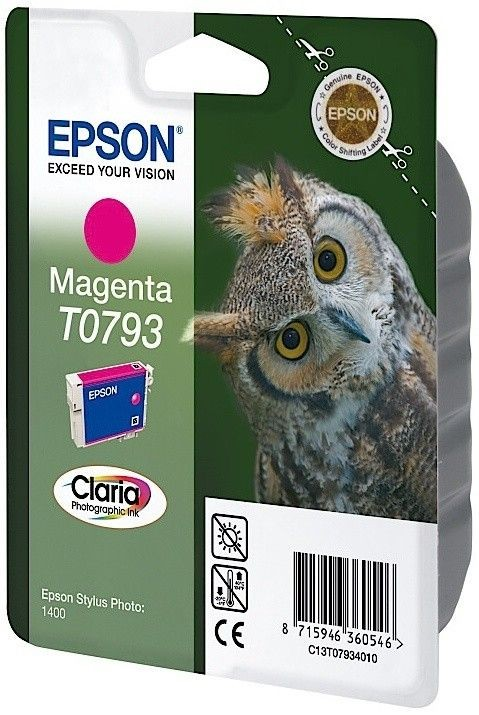 Epson Tusz T0793 magenta | Stylus Photo 1400