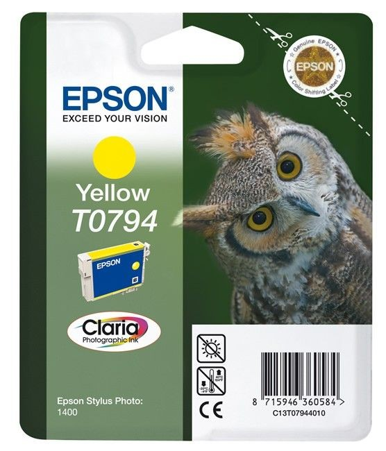 Epson wkład Yellow do Stylus Photo 1400 (11ml)