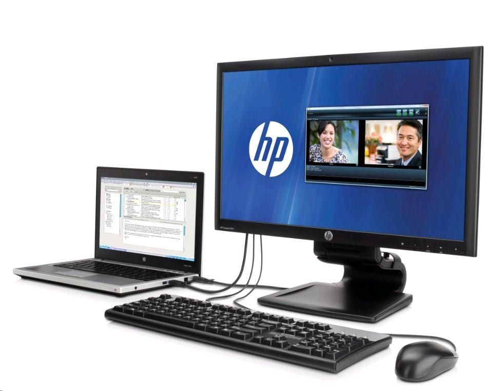 HP Monitor EliteDisplay S231d LED MNT Eu-En