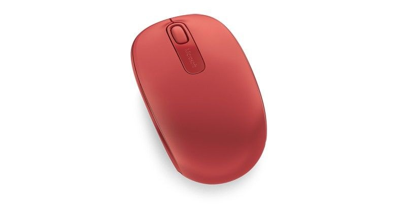 Microsoft Wireless Mobile Mouse 1850 Flame Red U7Z-00033