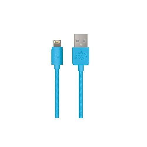 OWC NewerTech certyfikowany kabel Lightning USB 1.0m MFi niebieski