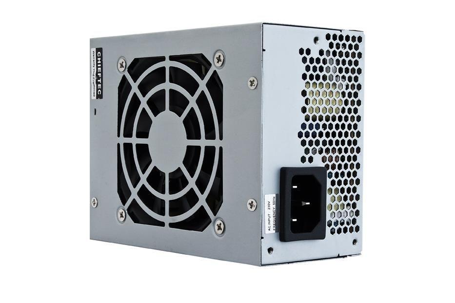 Chieftec zasilacz SFX serii SMART - SFX-350BS-L, 350W bulk, 8cm fan, aktywne PFC