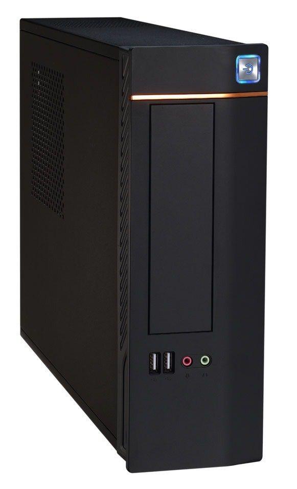 EUROcase skříň mini ITX WT-02, USB, AU, bez zdroje