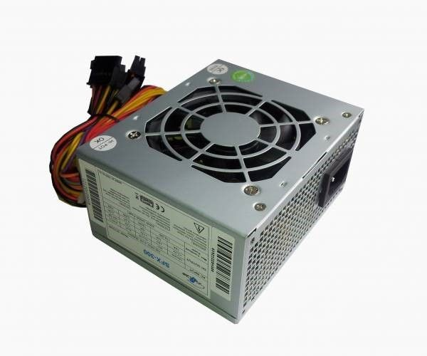 EUROcase PSU SFX-300W, APFC, CE, CB, ErP2013, typical efficiency 80%