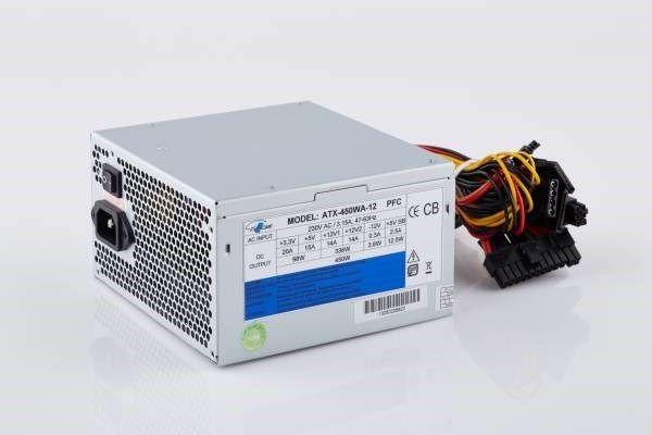 EUROcase Zasilacz PC 450W ATX-450WA-12