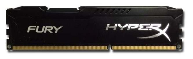 Kingston 4GB 1333MHz DDR3 CL9 DIMM HyperX Fury Series, Czarny