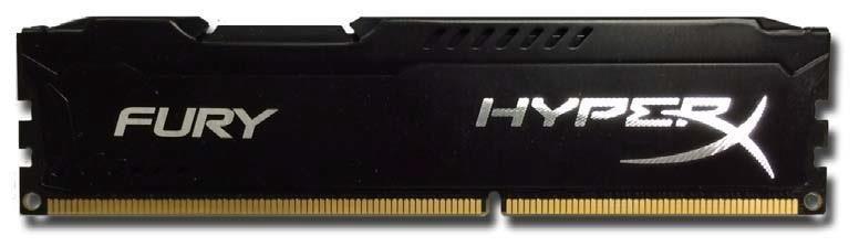 Kingston 8GB 1333MHz DDR3 CL9 1,5V HyperX Fury Blue, Black